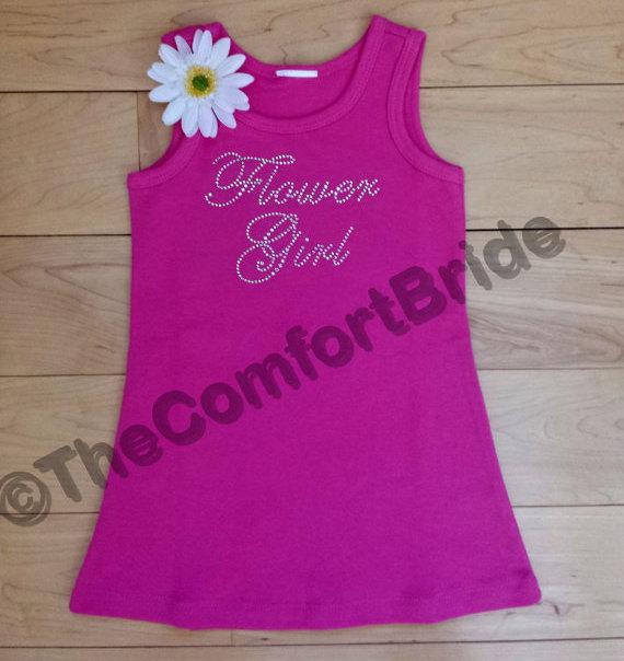 Mariage - Flower Girl DRESS . Toddler Flower Girl Dress . Infant Flower Girl Dress . Sleeveless Flower Girl DRESS .Flower Girl gift
