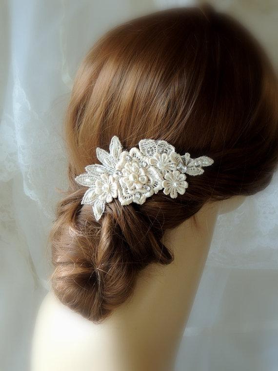 wedding hair accessories wedding ivory hair comb champagne hair accessories pearl hair clip