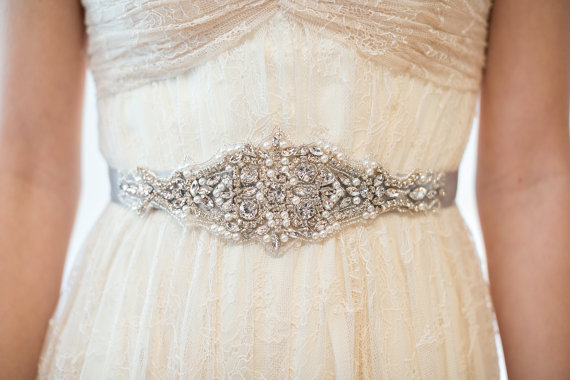 Wedding - Bridal Gown Sash