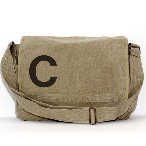 Свадьба - Messenger Bag, Monogrammed Bag, Personalized Bag, Initial, Crossbody Bag, Personalized Diaper Bag, Men & Women Messenger Bag, Groomsmen Gift