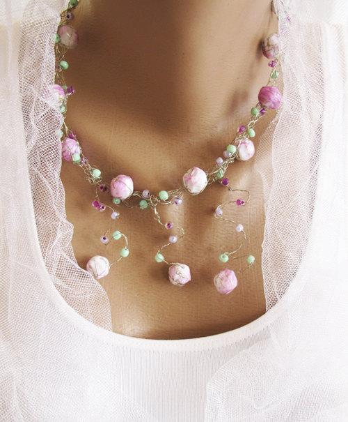 Wire crochet necklace wire jewelry jewelry necklace wedding wire crochet necklace wire jewelry jewelry necklace wedding womens accessory wire crochet jewelry jewelry necklace choker necklace aloadofball Choice Image