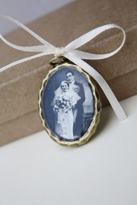 Свадьба - Wedding bouquet memorial charm