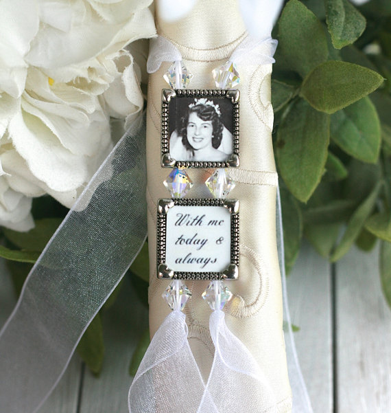 Bouquet Charm Wedding Bridal Memory Gift For Bride Brides Weddings