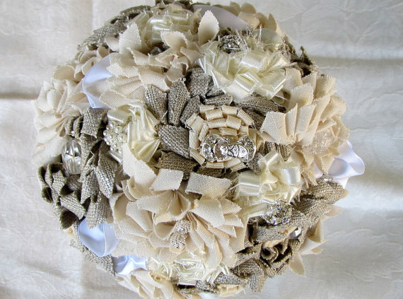 زفاف - Sale 50% discount,Weddings bouquets, Rustic chic bridal bouquets, Fabric bridal bouquets, Bridesmaid bouquets, Bouquets, Flower bouquets