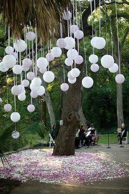 Hochzeit - Outdoor Ceremony & Reception Ideas
