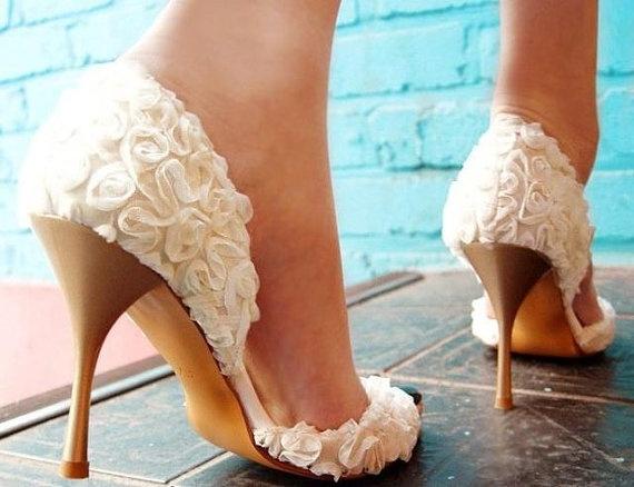 Wedding - Bridal Shoes Heels Wedding
