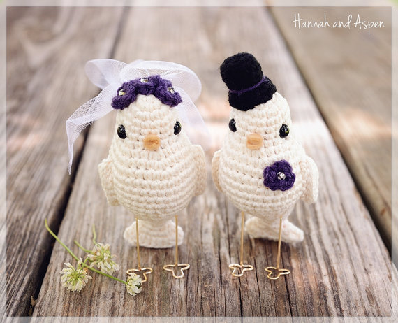 How To Make Love Bird Wedding Cake Topper