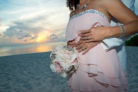 Mariage - Wedding Fabric Bouquet