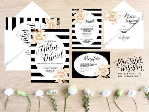 Mariage - Printable Wedding Invitation