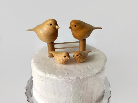 Woodcarving Wedding Cake