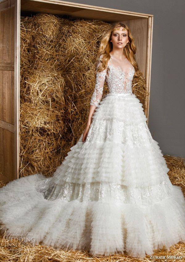 Zuhair murad bridal spring 2015 wedding dresses 2234530 for Zuhair murad wedding dress
