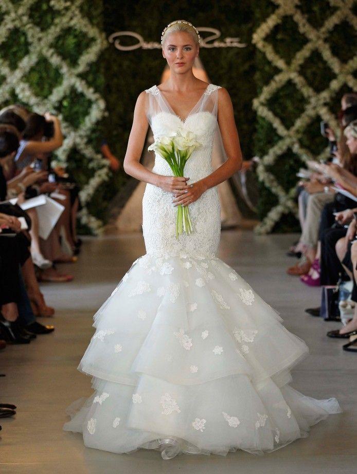 Oscar de la renta oscar de la renta wedding dresses 2015 for De la renta wedding dresses