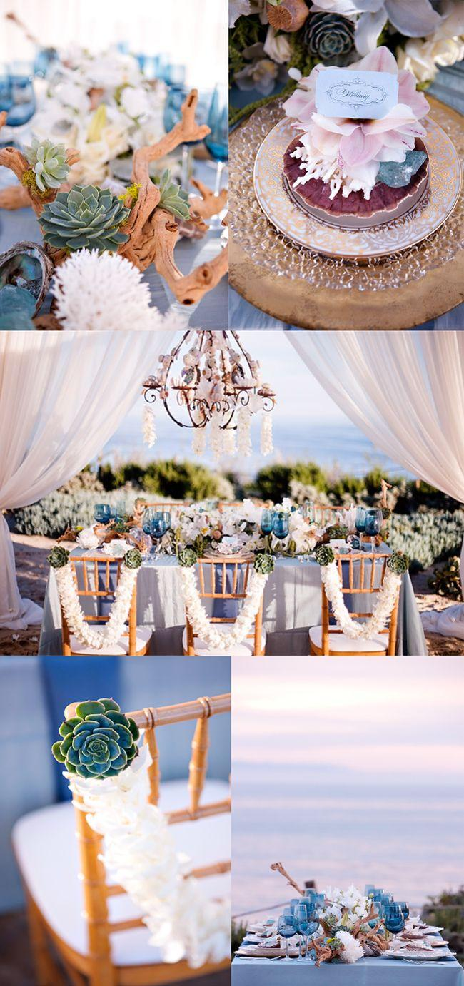 Свадьба - Beach Chic Wedding Decor