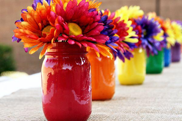 Mariage - Rainbow Breakfast Birthday Party - Kara's Party Ideas - The Place For All Things Party