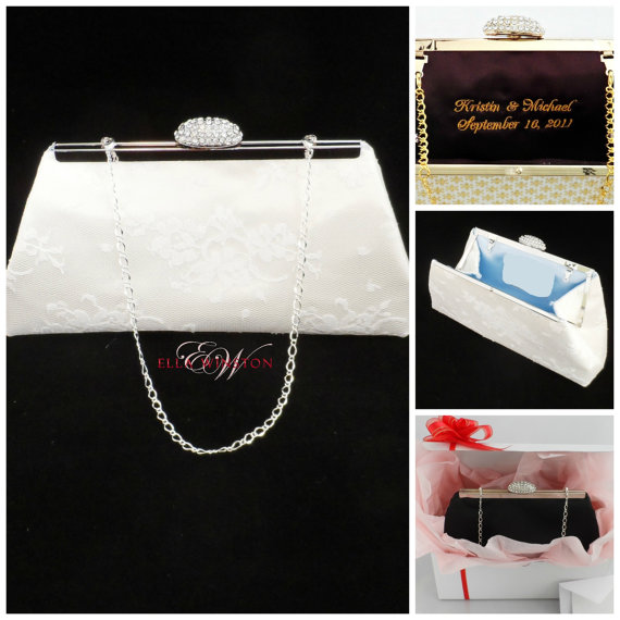 Wedding Gifts For The Bride From Her Mother : ... Mother Of The Bride Gift, Wedding Clutch, Bridal Shower Gift, Gifts