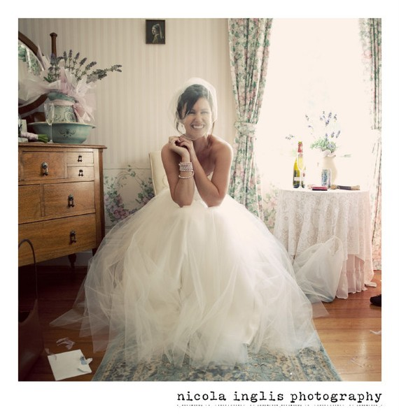 Mariage - Tulle Birdcage Wedding Veil