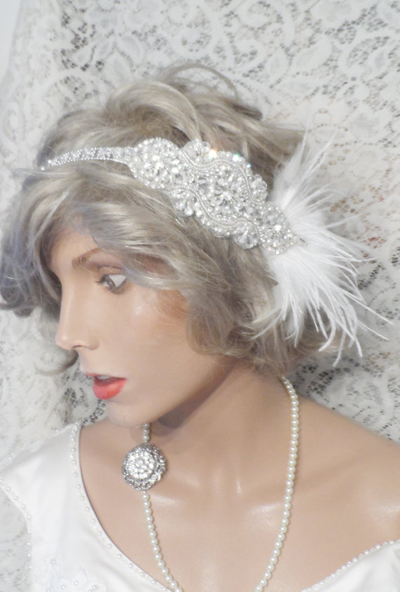 GATSBY Headpiece Gatsby Headband Bridal