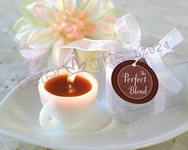 Boda - 爆款婚慶用品,婚禮小禮物 香濃咖啡杯蠟燭LZ024高端婚禮策劃