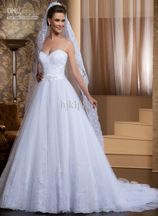 New Arrival Custom Made A-line Sweetheart Beaded Sash Beautiful ...