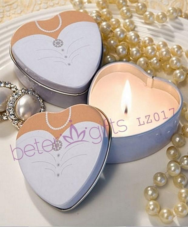 Свадьба - 婚礼回礼 新娘马口铁蜡烛烛台,欧美婚庆用品,创意婚品LZ017