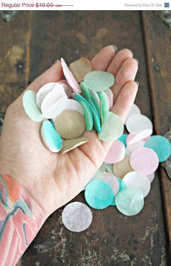 Wedding - wedding confetti / confetti balloon // biodegradable confetti / birthday party decorations // gender reveal // flower girl petal toss