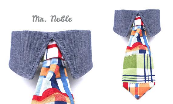 Свадьба - Dog Shirt Collar Tie - Mr. Noble