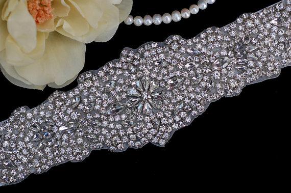 Свадьба - Bridal Belt , Wedding Sash , Heirloom Bridal Belt , Wedding Sash Belt , Bridal Sash Belt , Crystal Rhinestone Sash Belt
