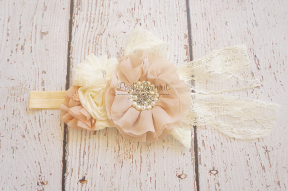Blush Baby Lace Headband 276e3780a99