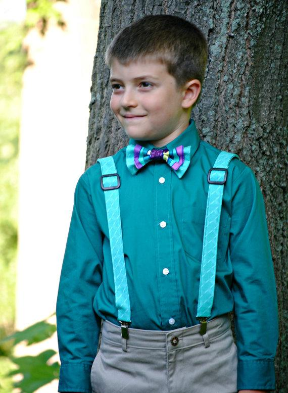 ca53983d5 Boy s Bow Tie And Suspenders Set