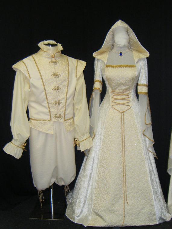 Medieval Handfasting Renaissance Wedding Dress Custom Made #2237495 ...