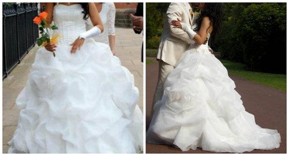 Gypsy Huge Wedding Dress