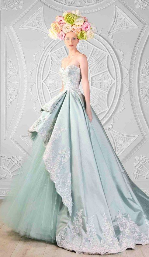 21 Breathtaking Couture Gowns Fit For An Ice Queen 2237836 Weddbook