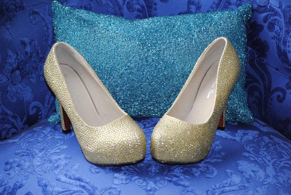 Mariage - Ready to Ship Crystal Swarovski Wedding Shoes