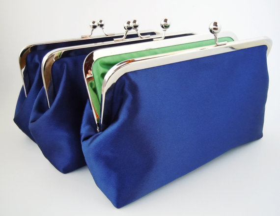 Mariage - Customize Your Own Bridal Clutch Purse for Brides and Bridesmaids Gift - Wedding Favor - Discounts for Bulk Orders
