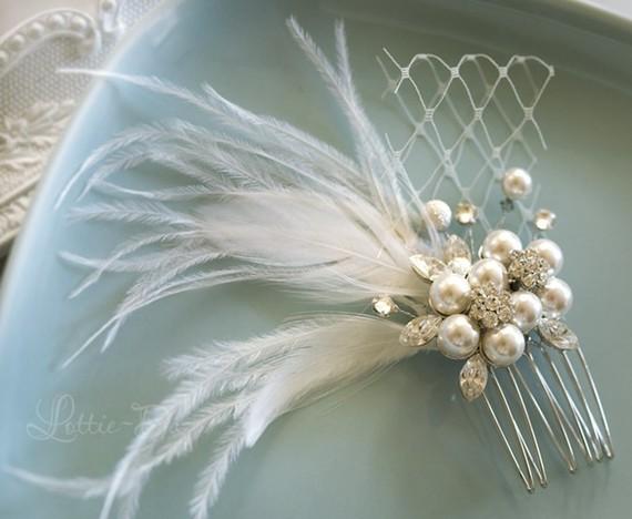 Vintage Wedding Hair Comb 411509f20f9