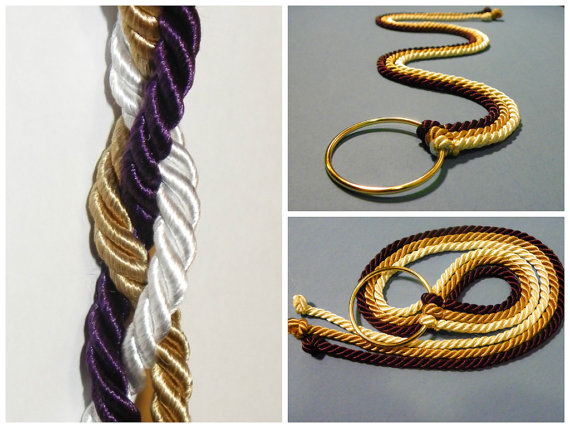 Hochzeit - God's Wedding Knots - Cord of Three Strands, Reading, & Tie