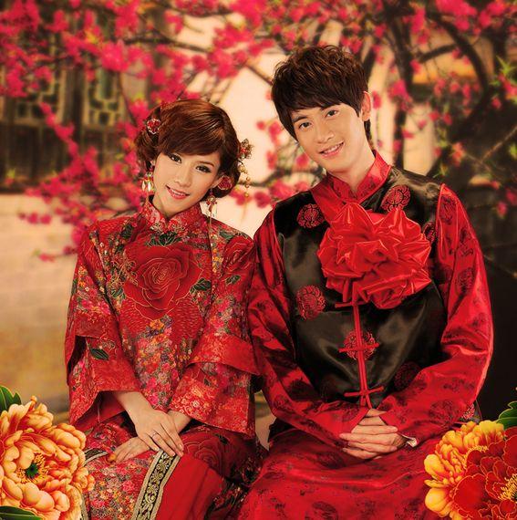 oriental wedding chinese wedding outfits 2238806 weddbook