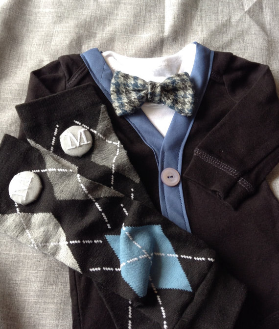 950cf27bd7442 Mason - Baby Boy Clothes- Newborn - Infant Bow Tie Vest - Photo Prop- Baby  Shower Gift- Wedding Outfit- Ring Bearer-Christol and Company