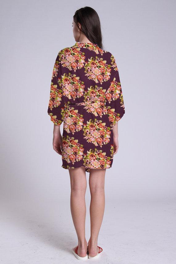 Purple Kimono Dress Traditional Japanese Kimonos Kimono Style ...