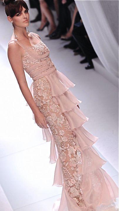 Wedding - Pale Pink Valentino Gown