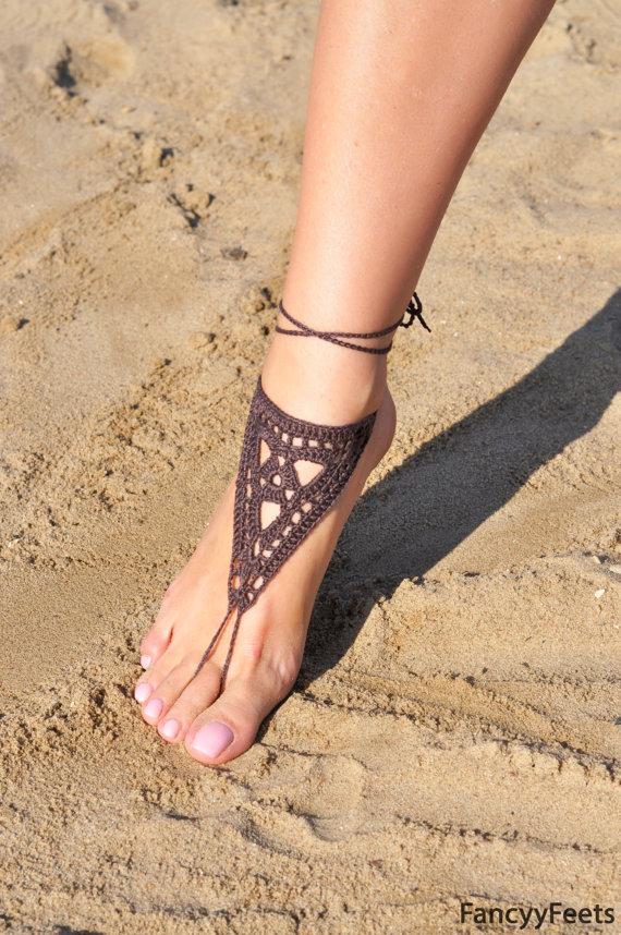 Impudence! apologise, Beach wedding barefoot sandal crochet good