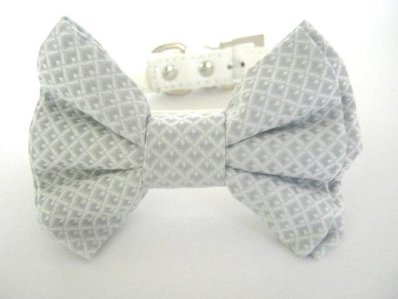 Свадьба - dog bow tie collar ,wedding dog bow tie collar ,special ocassion