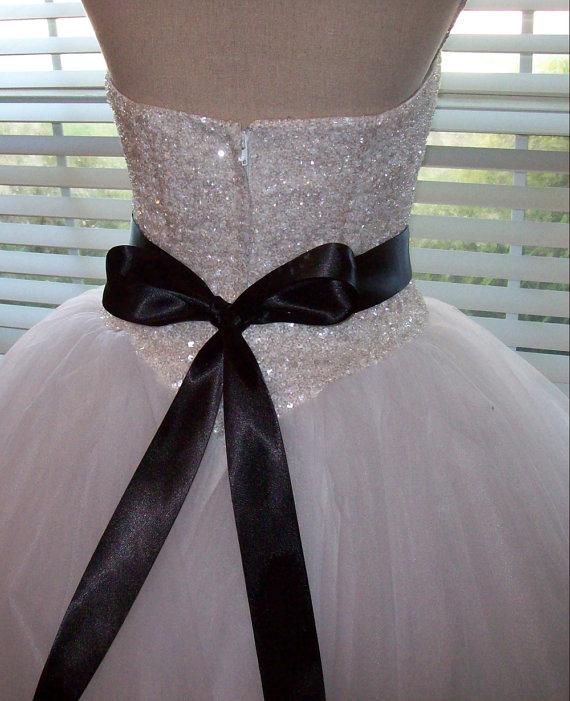 Mariage - Bridal belt,Bridal Sash,Wedding Sash,Ribbon Sash,Bridal Accessories