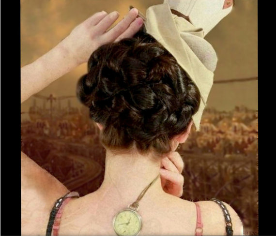 Steampunk Wedding Costume Hair Victorian Regency Reenactment