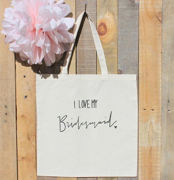Mariage - Bridal Party Gift Bag For the Bridesmaid