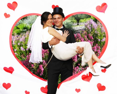 Mariage - Die besten Hochzeitsspiele und Hochzeitsgeschenke 2014 - PORTOFREI: Hochzeitsherz ausschneiden, Gästebücher mal anders, Hochzeitsballons INKL Ballonflugkarten, Geldgeschenke,... alles für Trauzeugen und Hochzeitsgäste