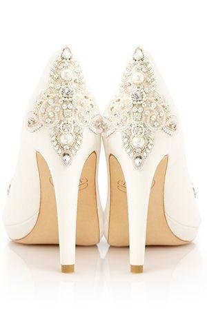 Свадьба - Weddings-Bride-Shoes