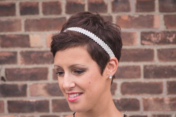 Mariage - rhinestone Headband, Bling Band, Wedding Headband, Bridal Headband