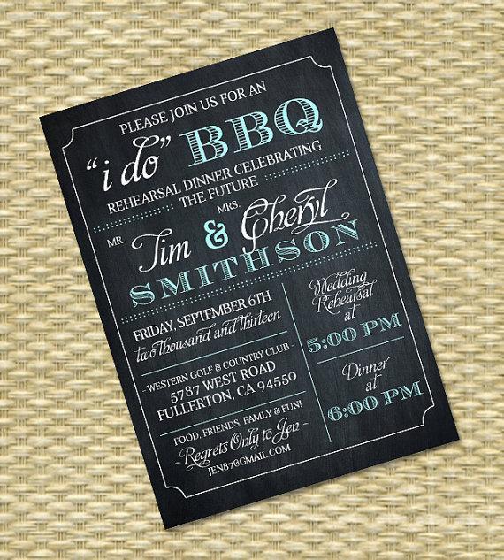 I Do Bbq Wedding Invitations 031 - I Do Bbq Wedding Invitations