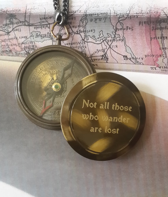 Compass, Engraved Compass, Personalized